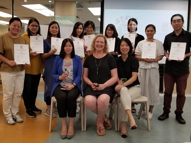 Teachers' Training Session, Hong Kong
