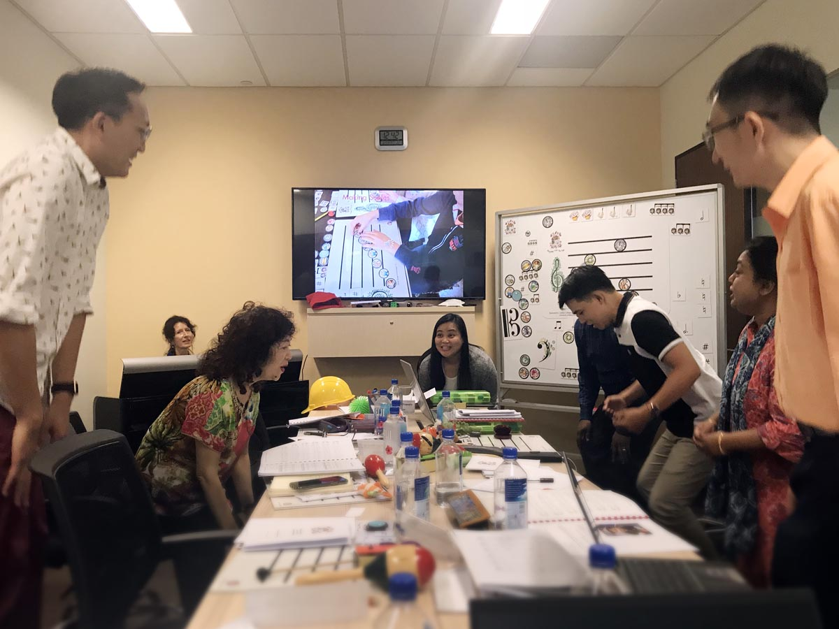 Stave House Teachers' Training Session (Singapore 31 Oct - 02 Nov 2018)