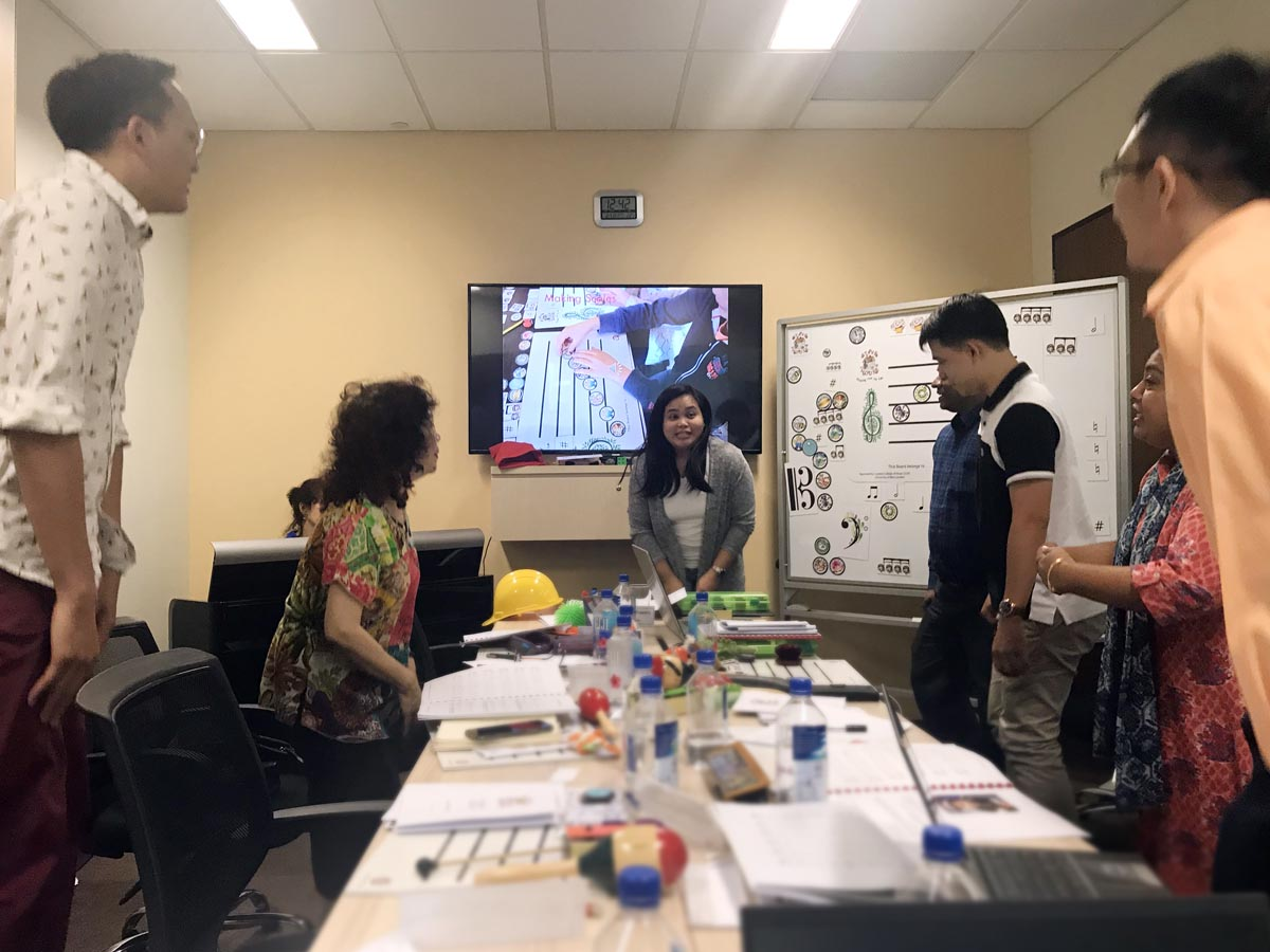Stave House Teachers' Training Session (Singapore 31 Oct - 02 Nov 2018)